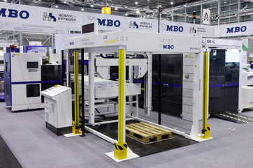 Highest volume, and especially long-run, operations benefit from tremendous speed gains when combining the new A10 Log Stacker with MBO high speed folders.