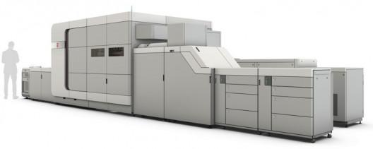 The Canon Océ VarioPrint i300 sheetfed inkjet press.