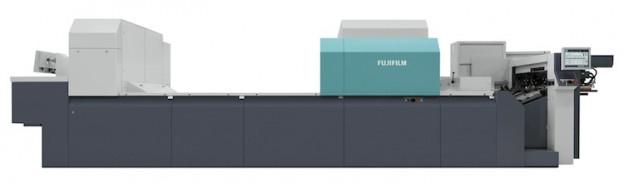The Fujifilm J Press 720S cut-sheet inkjet press.