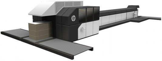 The HP PageWide C500 press.