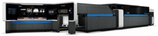 The Landa S10 Nanographic printing press.