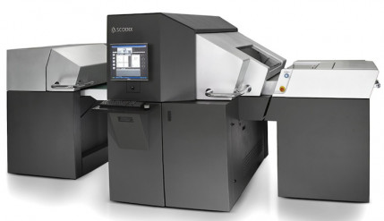 The Scodix S Series Digital Enhancement Press.