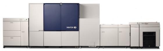 The Brenva HD cut-sheet production inkjet press from Xerox.
