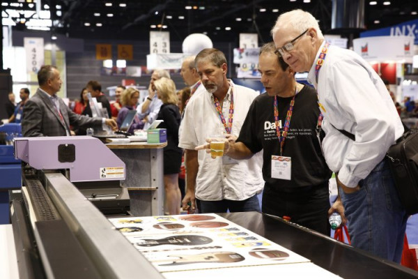 The chance to watch equipment in action has always been one of the biggest selling points for attending Graph Expo.