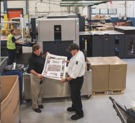 An HP Indigo 10000 is the latest press addition to support SG360°'s growing digital color printing business.