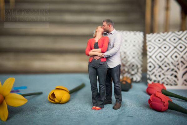 3D printing enables a three-dimensional rendering of a blissful, newly married couple.