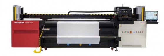 The Anapurna H2500i LED wide-format printer from Agfa.