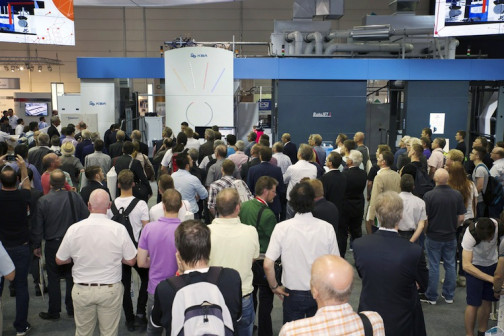 KBA-Sheetfed underscored its solid footing in folding carton printing with the largest sheetfed offset press at this year's drupa.