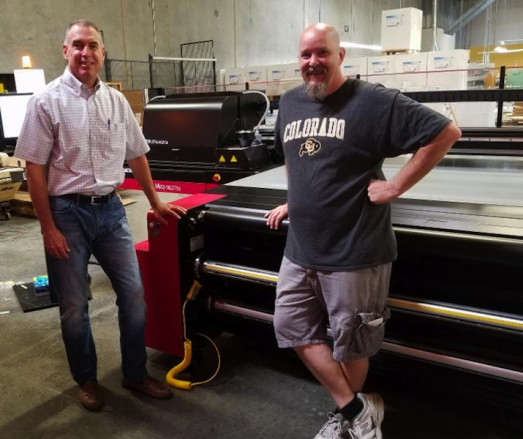 From left to right: Daniel Hanson, president; and Jeff Campbell, production director.