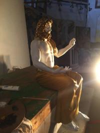 Phidias created the original sculpture of Zeus in 432 B.C.