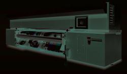The Rho 312R roll printer.