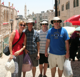 A family vacation to Israel proved to be one of the most enjoyable trips for the Lykes.