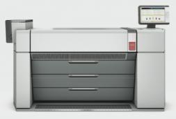 The Océ ColorWave 910 Printer.