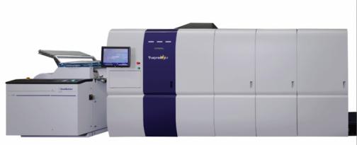 The Screen Truepress Jet 520 HD printer.