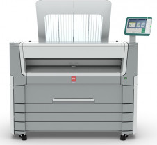 The Océ PlotWave 550 wide-format monochrome printing system from Canon U.S.A.