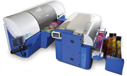 """The Kornit Allegro digital textile printing system was used for the hit series """"Project Runway."""""""