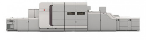 The Océ VarioPrint i300 color digital press.
