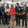 RIT, industry and state officials cut the ribbon on the new Additive Manufacturing and Multifunctional Printing (AMPrint) Center, one of New York state's newest Centers for Advanced Technology, on Oct. 25.