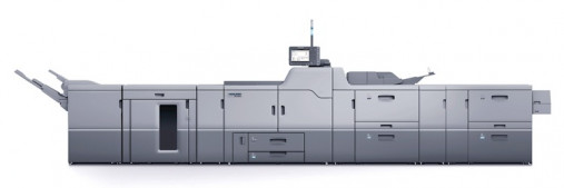 The Versafire CV digital printing system.