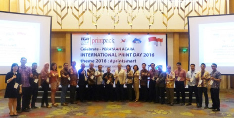 Delegates to the Indonesian International Print Day celebration send a message to the world.