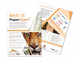 GPA is the exclusive distributor for PaperTyger Durable Papers in the North American market.