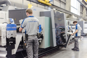 The Heidelberg Wiesloch-Walldorf site is becoming a production center for digital presses.