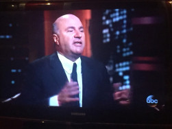 """Kevin """"Mr. Wonderful"""" O'Leary negotiated hard before agreeing to a combined equity and royalty agreement."""