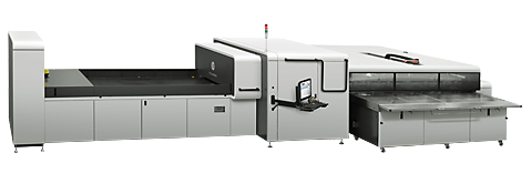The HP Scitex 11000 Industrial Press.