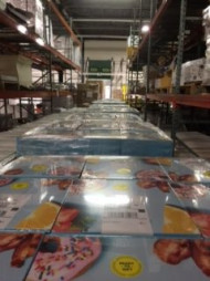Originally committed to producing 5,000 cookbooks in total, Superior Packaging is now producing 5,000 per day. Image courtesy of Superior Packaging.