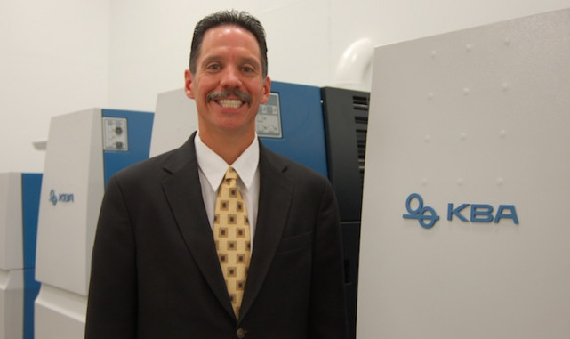 Sam Pernice is promoted to director of sales and service at KBA.