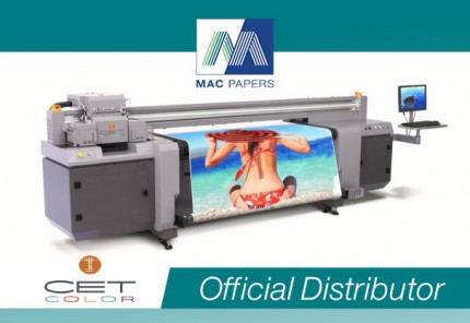 The Mac Papers / CET Color partnership will strengthen the growing offering of print equipment for sign and display customers in the Southeast U.S.