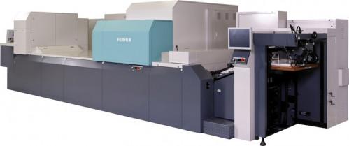 The Fujifilm J Press 720S press.