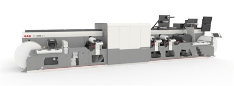 The MPS EF SYMJET Press from Domino.