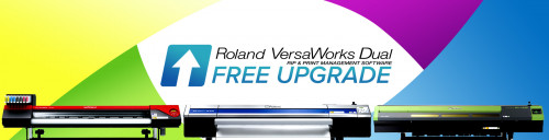 Roland's VersaWorks Dual RIP builds upon the intuitive, easy-to-use capabilities of Roland VersaWorks to provide high quality printing, while adding enhanced processing and editing functions.