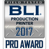 """The Canon imagePRESS C850 delivers superior output and powerful job management capabilities in a small footprint,"" said Pete Emory, BLI's Director of U.S./Asia Research and Lab Services. ""Image quality was equally outstanding on coated and uncoated stocks, and even with textured paper and envelopes. In fact, the device earned BLI's 5-Star status for fine line production. Color calibration, especially when using the PRISMAsync controller with in-RIP G7 calibration, is straightforward, making it easy to maintain that high level of quality over longer runs. And with simple procedures for programming media types, creating automated workflows and submitting jobs, the imagePRESS C850 promises to keep operators productive throughout the day."""