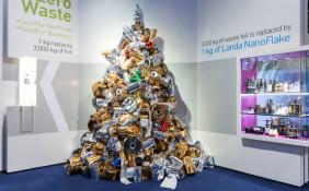 Tower of scrap foil