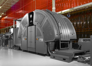 The Pitney Bowes IntelliJet 20 Printing System.