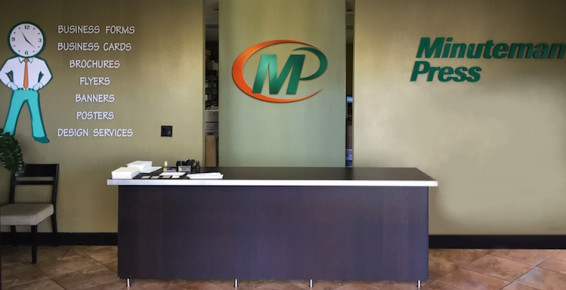 Minuteman Press in Woodland Hills, Calif., offers essential design, printing, and marketing services.