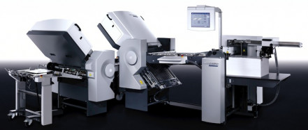 hoto 2: The buckle plate folder Heidelberg Stahlfolder BH 56 allows for a professional fold production with an attractive price-performance ratio.