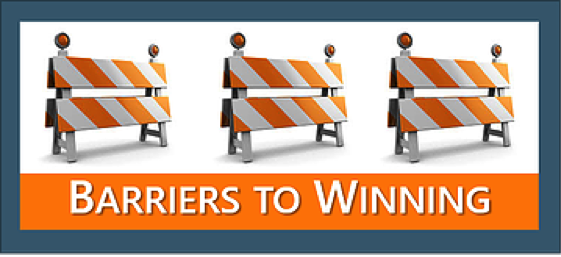 Barriers to Winning
