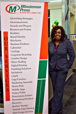 Juanita Glenn, Minuteman Press franchise owner, Upper Marlboro, Md.