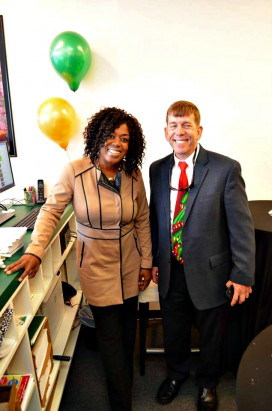 Juanita Glenn and Bob Heimbuch, Minuteman Press International RVP for MD/VA/DC.