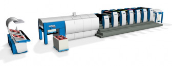 A KBA Rapida 106 sheetfed press will also be up and running at Dome by the end of this year.