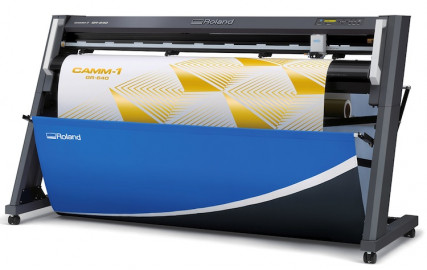 Roland DGA's new CAMM-1 GR series of large-format cutters.