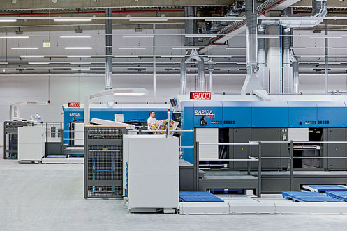 The Sheetfed segment widened its share of the global market to around 25% for sheetfed offset presses and to substantially more than 60% for large-format presses.
