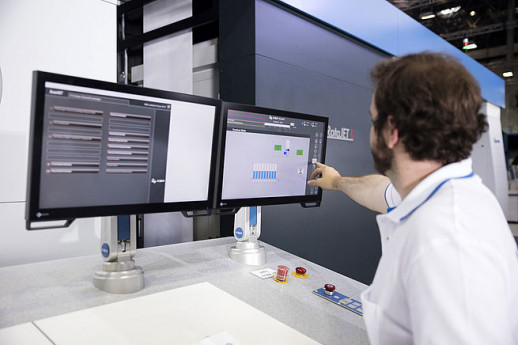 Presented at Drupa and featuring outstanding printing results, the RotaJET L inkjet rotary press is currently being enhanced for new industrial and packaging printing applications