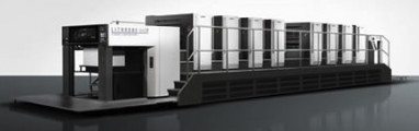 The Komori Lithrone G40 perfector (GL840P) with H-UV.