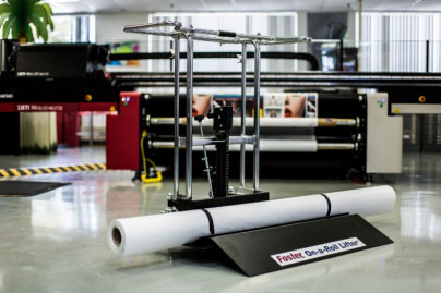 The Foster On-a-Roll Lifter Universal is Foster's latest addition in material handling equipment.