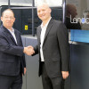 First Landa S10 Nanographic Printing Press Now at Graphica Bezalel