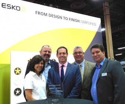 Abbott-Action Invests In Two Esko Kongsberg C64 Finishing Tables